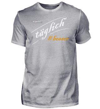 täglich#besser - Herren Premium T-Shirt