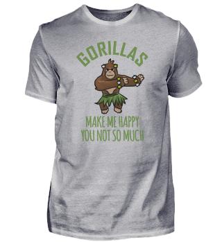 Gorilla makes me happy