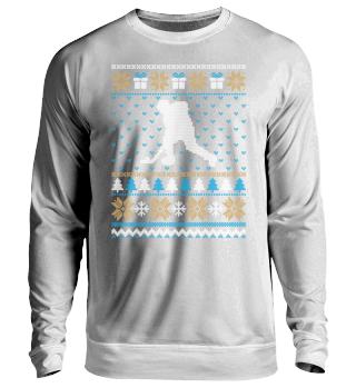 Eishockey Ugly Christmas sweater
