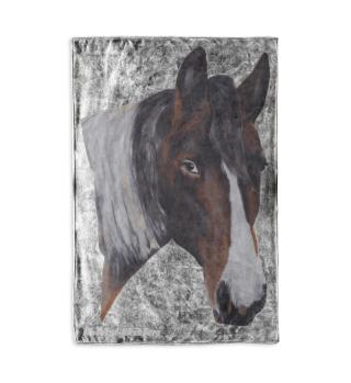 Kuscheldecke Pferd