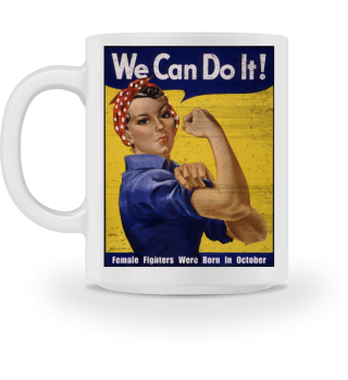 WE CAN DO IT - Emanzipation born 10