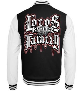 Herren College Jacke Locos Family Ramirez