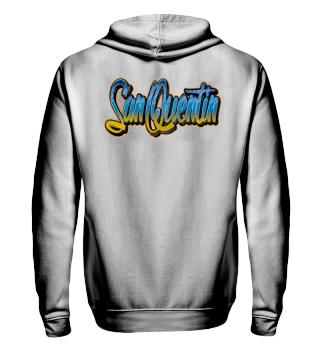 Herren Zip Hoodie Sweatshirt San Quentin Ramirez