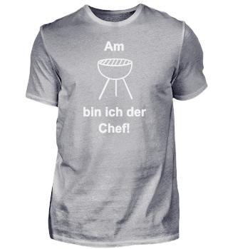 Am Grill bin ich der Chef. Geschenk