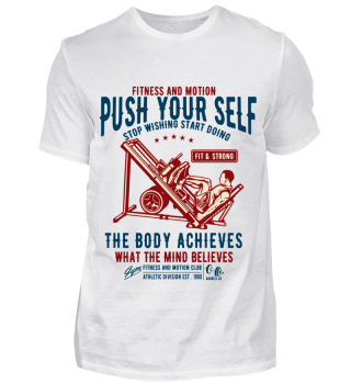 Push your self