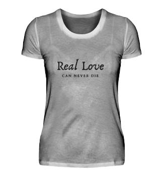 Real Love Damen Basic Shirt
