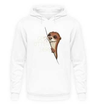 Get Otter Here Outta Animal Fun Pun Gift