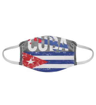 Kuba-Gesichtsmaske