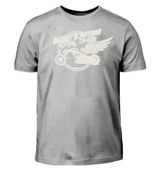 Vater Kind Motorradfahrer Biker Shirt