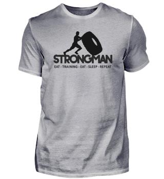 ★ Strongman Wheel Flip - Daily Routine 1