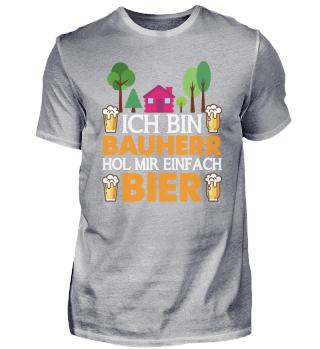 Bauherr Bier - Hausbau, Eigenheim