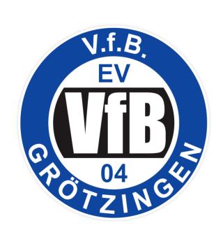 Aufkleber - V.f.B. Grötzingen