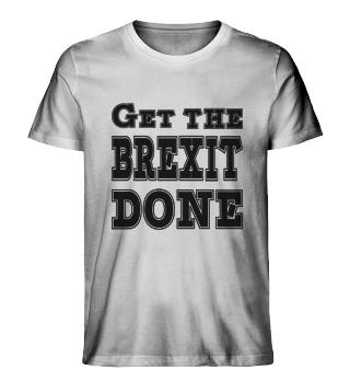 Brexit get it done present