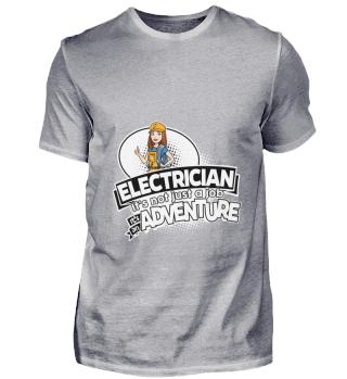 D001-0531A Female Electrician Elektriker