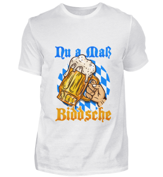 Oktoberfest Maß Shirt Glass Beer Booze