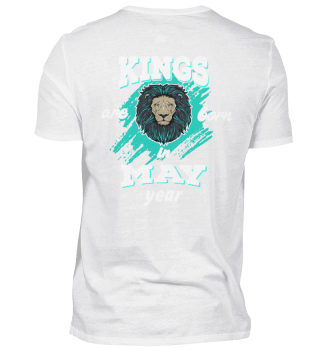 kings are born in may back