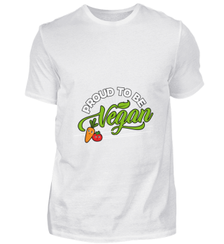 D001-0712A Vegan - Proud to be Vegan (Ca