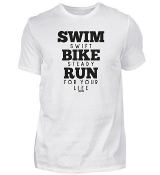 Swim Bike Run jogging Sport
