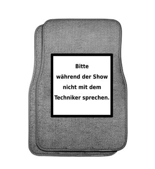 Warnhinweis Techniker - lustig - VI