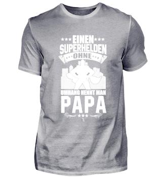 Superheld ohne Umhang Vater Dad Geschenk