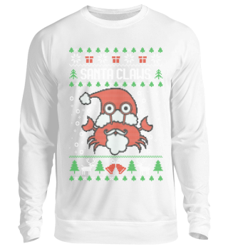 Ugly Christmas Sweater - SANTA CLAWS