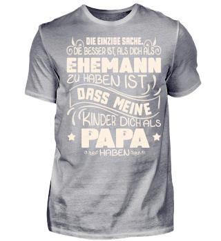 EHEMANN PAPA KINDER FAMILIE T-SHIRT