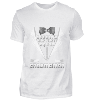Groomsman Party T-Shirt Guys Party Gift