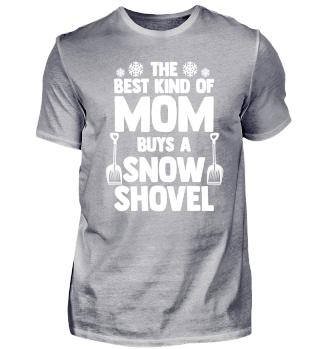 Schneeschaufel Weihnachtsgeschenk