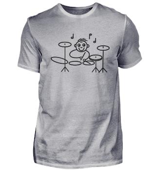Drummer Schlagzeuger Percussion Trommeln