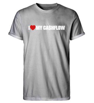 I ❤️ MY CASHFLOW Men Rollup Shirt