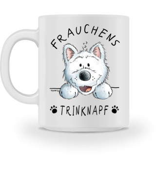 West Highland Terrier Frauchens Tasse