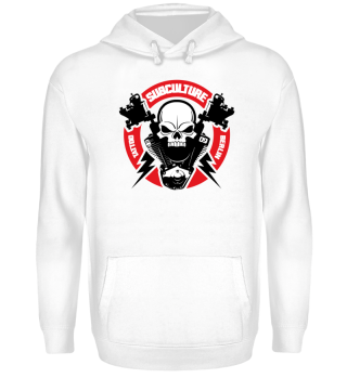 Skull Hoodie Subculture Tattoo | Skull Color