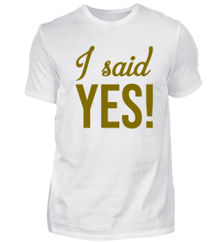 I said yes - gold