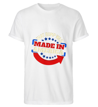 Made in America T-Shirt Baby Pregnant