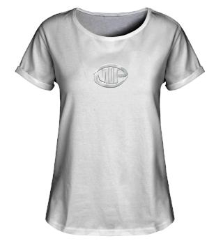 Rollup Shirt - Logo silber