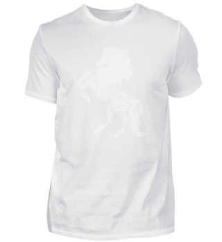 Mandala horse for rider and yoga