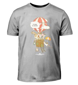 s'Lebn is schee - Kinder-T-Shirt