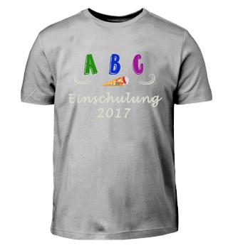 A B C Einschulung Schulanfang Shirt