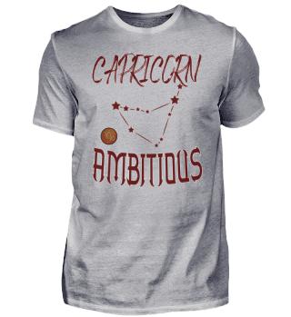 Capricorn Ambitious
