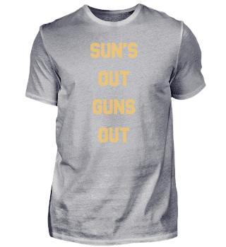 Suns Out Guns Out Vintage