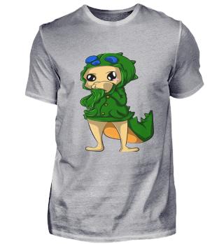 Kawaii Krokodil Design Geschenkidee