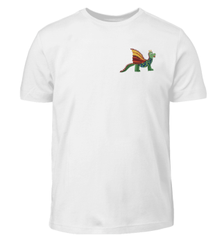 T-Shirt Kinder mit Wormel