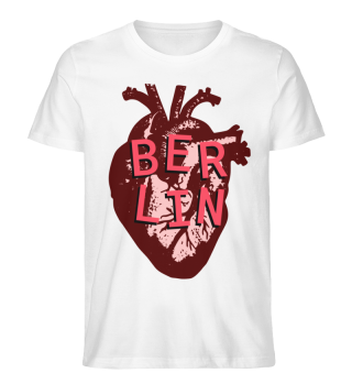 Berlin Love Heart Men's T-Shirt
