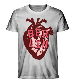 Berlin Love Heart Men's T-Shirt
