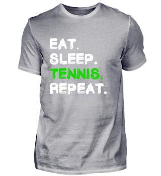 Eat Sleep Tennis Repeat Shirt