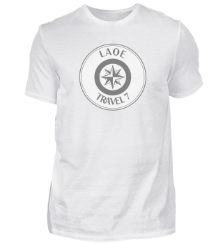 Laoe Travel 7 Logo Rund Grey ( Men )