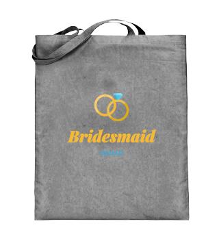 Bridesmaid squad wedding party women shirt