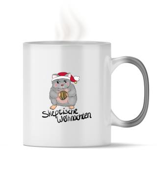 Skeptische Weihnachten - Magic Tasse