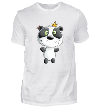 Pandabär mit Krone I Panda I Bär I Comic