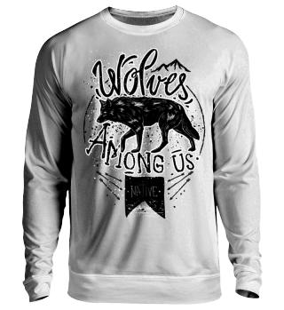 Herren Langarm Shirt Wolves Ramirez